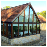 Oak framed Sunroom, Newton, nr Grantham, Linconshire
