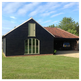 Timber framed building with garage, Billingborough, nr Sleaford, Lincolnshire